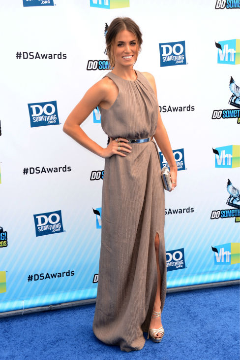 'Twilight' actress Nikki Reed arrives at the 2012 Do Something Awards at Barker Hangar on August 19, 2012 in Santa Monica, California.