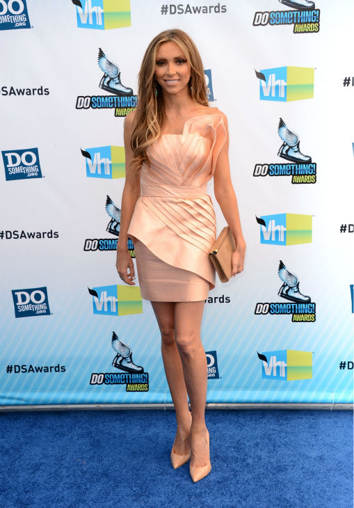 "<div class=""meta ""><span class=""caption-text "">E! host Giuliana Rancic arrives at the 2012 Do Something Awards at Barker Hangar on August 19, 2012 in Santa Monica, California. (Jason Merritt / Getty Images)</span></div>"