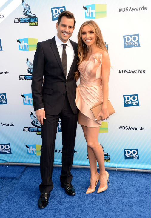 "<div class=""meta ""><span class=""caption-text "">E! host Giuliana Rancic and husband Bill Rancic arrive at the 2012 Do Something Awards at Barker Hangar on August 19, 2012 in Santa Monica, California. (Jason Merritt / Getty Images)</span></div>"
