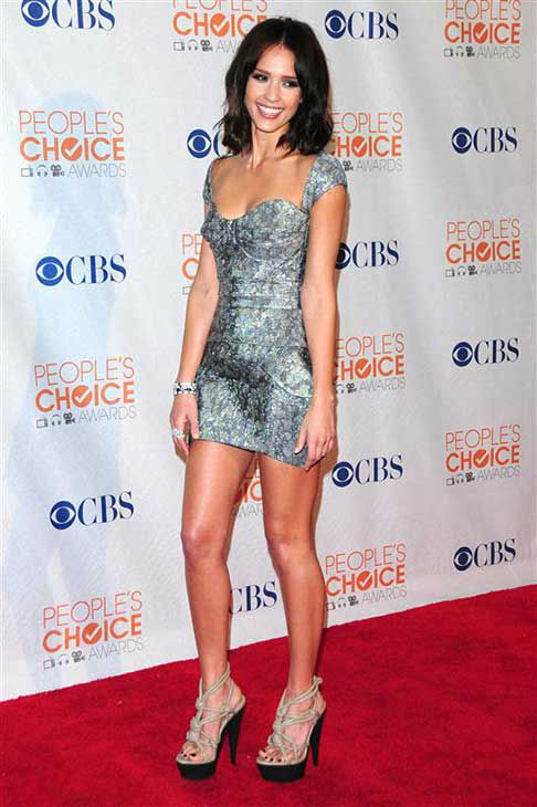 Jessica Alba appears at the 2010 People&#39;s Choice Awards in Los Angeles on Jan. 6, 2010. <span class=meta>(Kyle Rover &#47; startraksphoto.com)</span>