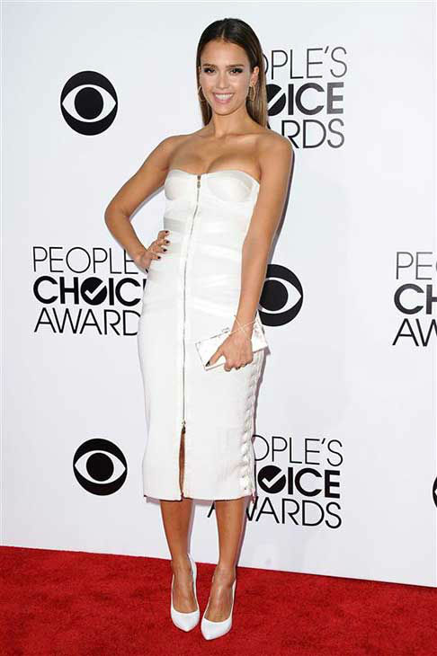 Jessica Alba appears at the 2014 People&#39;s Choice Awards in Los Angeles on Jan. 8, 2014. <span class=meta>(Kyle Rover &#47; startraksphoto.com)</span>