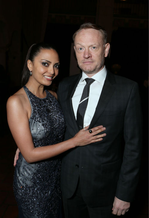Allegra Riggio and Jared Harris ('Mad Men')...