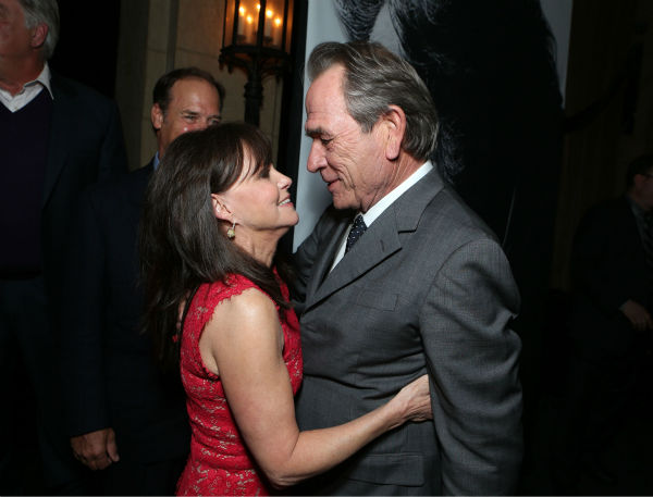 Sally Field and Tommy Lee Jones appear at the...