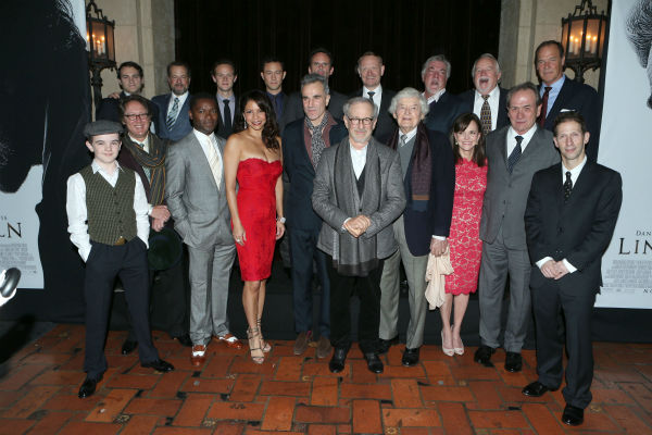 The cast of 'Lincoln' appears at the world...