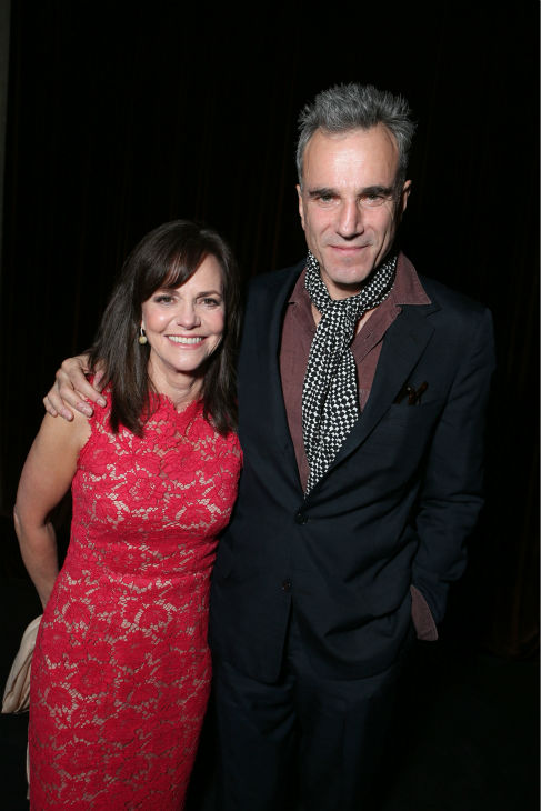 Sally Field and Daniel Day-Lewis appear at the...