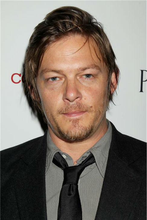 The &#39;In-Between-Haircuts&#39; stare: Norman Reedus attends the premiere of &#39;The Conspirator&#39; in New York on April 11, 2011. <span class=meta>(Dave Allocca &#47; Startraksphoto.com)</span>
