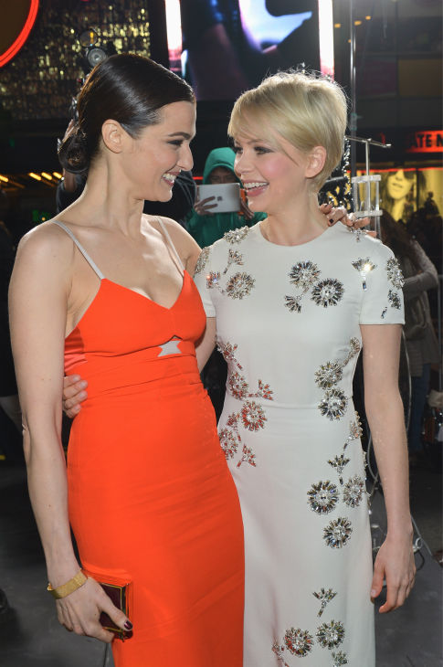 Rachel Weisz and Michelle Williams attend Walt Disney Pictures&#39; world premiere of &#39;Oz The Great And Powerful&#39; at the El Capitan Theatre in Hollywood, California on February 13, 2013. <span class=meta>(Alberto E. Rodriguez &#47; WireImage)</span>