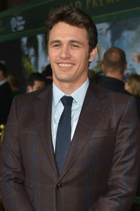 James Franco attends Walt Disney Pictures' world premiere of 'Oz The Great And Powerful' at the El Capitan Theatre in Hollywood, California on February 13, 2013.