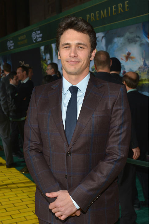 James Franco attends Walt Disney Pictures&#39; world premiere of &#39;Oz The Great And Powerful&#39; at the El Capitan Theatre in Hollywood, California on February 13, 2013. <span class=meta>(Alberto E. Rodriguez &#47; WireImage)</span>