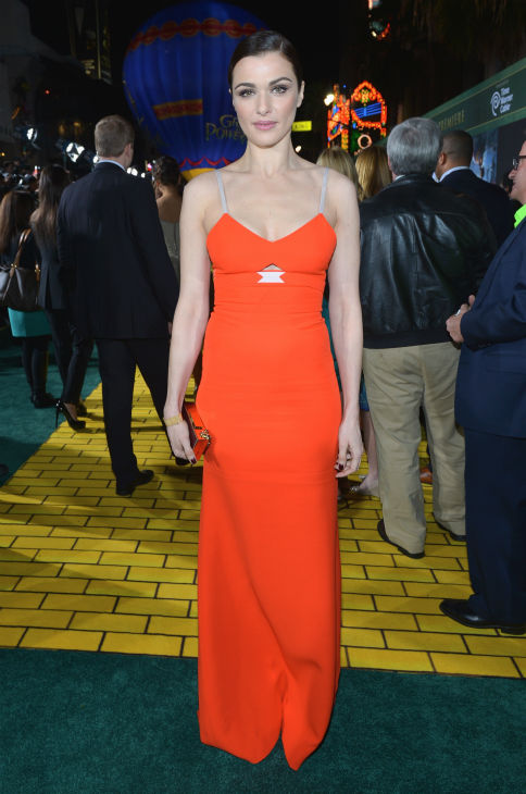 "<div class=""meta ""><span class=""caption-text "">Rachel Weisz attends Walt Disney Pictures' world premiere of 'Oz The Great And Powerful' at the El Capitan Theatre in Hollywood, California on February 13, 2013. She is wearing a a bright Victoria Beckham Spring 2013 gown. (Alberto E. Rodriguez / WireImage)</span></div>"