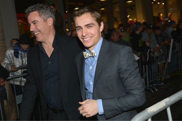Dave Franco (R) attends Walt Disney Pictures'...