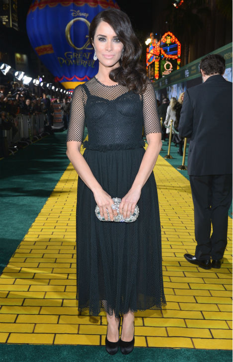 "<div class=""meta ""><span class=""caption-text "">Abigail Spencer attends Walt Disney Pictures' world premiere of 'Oz The Great And Powerful' at the El Capitan Theatre in Hollywood, California on February 13, 2013. (Alberto E. Rodriguez / WireImage)</span></div>"