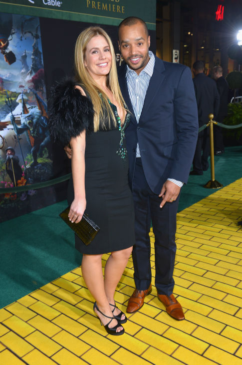 "<div class=""meta image-caption""><div class=""origin-logo origin-image ""><span></span></div><span class=""caption-text"">Donald Faison (R) attends Walt Disney Pictures' world premiere of 'Oz The Great And Powerful' at the El Capitan Theatre in Hollywood, California on February 13, 2013. (Alberto E. Rodriguez / WireImage)</span></div>"