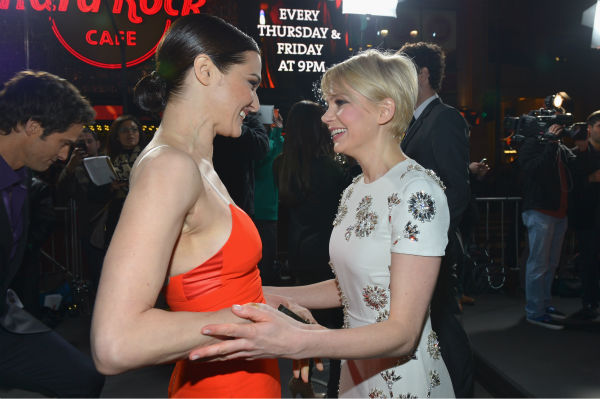 Rachel Weisz and Michelle Williams attend Walt...