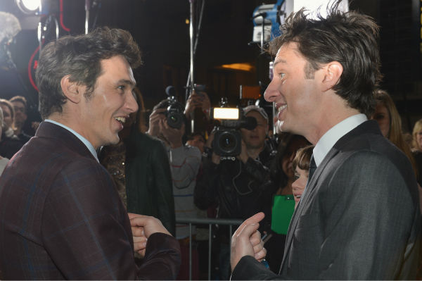 James Franco and Zach Braff attend Walt Disney...