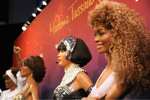 Madame Tussauds unveiled four wax figures of late si