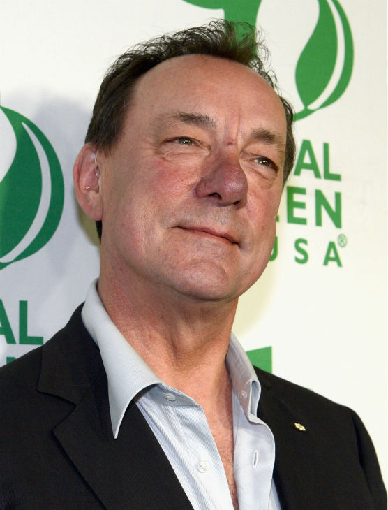 Rush drummer Neil Peart attends Global Green USA's 10th annual Pre-Oscars Party at the Avalon club in Hollywood, California on Feb. 20, 2013.