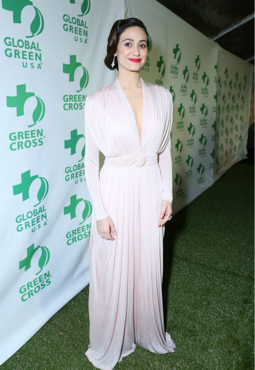 "<div class=""meta ""><span class=""caption-text "">Emmy Rossum (Fiona on Showtime's 'Shameless') attends Global Green USA's 10th annual Pre-Oscars Party at the Avalon club in Hollywood, California on Feb. 20, 2013. (Alexandra Wyman / Getty Images for Global Green)</span></div>"