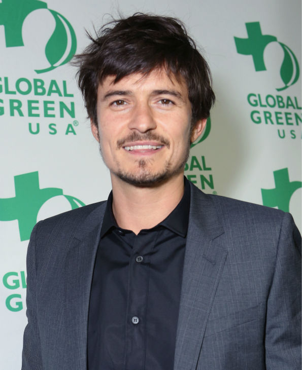 Actor Orlando Bloom attends Global Green USA&#39;s 10th annual Pre-Oscars Party at the Avalon club in Hollywood, California on Feb. 20, 2013. <span class=meta>(Alexandra Wyman &#47; Getty Images for Global Green)</span>