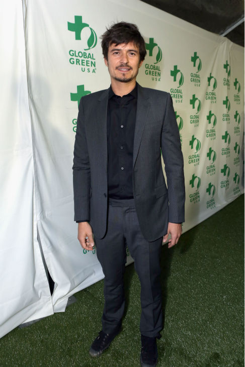 "<div class=""meta ""><span class=""caption-text "">Actor Orlando Bloom attends Global Green USA's 10th annual Pre-Oscars Party at the Avalon club in Hollywood, California on Feb. 20, 2013. (Alexandra Wyman / Getty Images for Global Green)</span></div>"