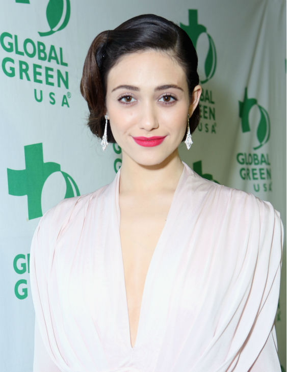 Emmy Rossum (Fiona on Showtime's 'Shameless')...