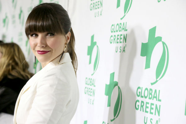 Former 'One Tree Hill' star Sophia Bush attends Global Green USA's 10th annual Pre-Oscars Party at the Avalon club in Hollywood, California on Feb. 20, 2013.