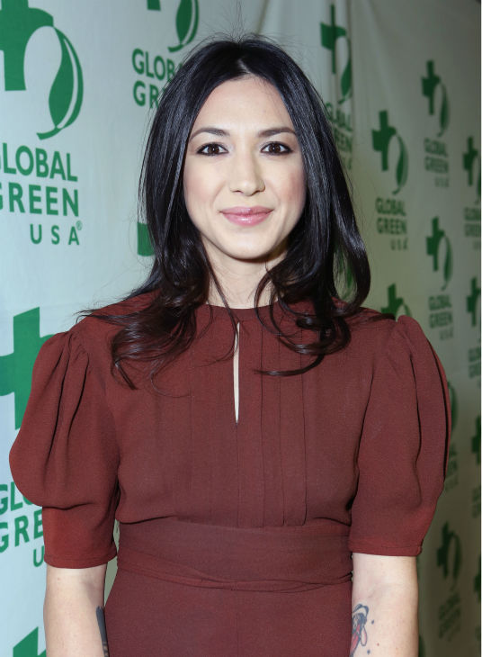 Singer Michelle Branch attends Global Green...
