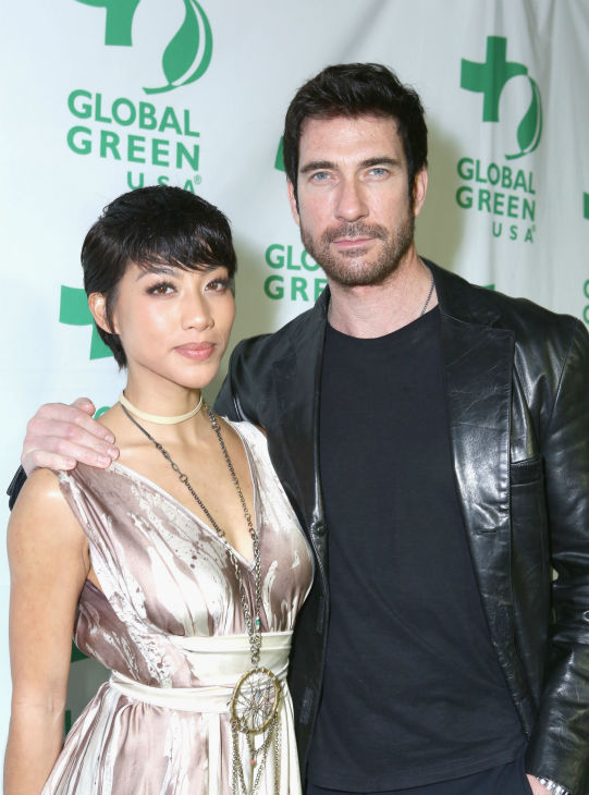 "<div class=""meta ""><span class=""caption-text "">Shasi Wells (L) and boyfriend and actor Dylan McDermott attend Global Green USA's 10th annual Pre-Oscars Party at the Avalon club in Hollywood, California on Feb. 20, 2013. (Alexandra Wyman / Getty Images for Global Green)</span></div>"