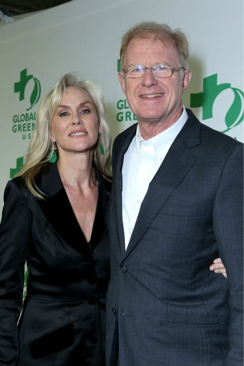 Actor Ed Begley Jr. and wife and actress Rachelle Carson attend Global Green USA&#39;s 10th annual Pre-Oscars Party at the Avalon club in Hollywood, California on Feb. 20, 2013. <span class=meta>(Alexandra Wyman &#47; Getty Images for Global Green)</span>