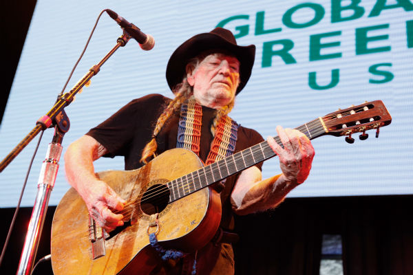 Willie Nelson performs onstage during Global Green USA&#39;s 10th annual Pre-Oscars Party at the Avalon club in Hollywood, California on Feb. 20, 2013. <span class=meta>(Todd Oren &#47; Getty Images for Global Green)</span>