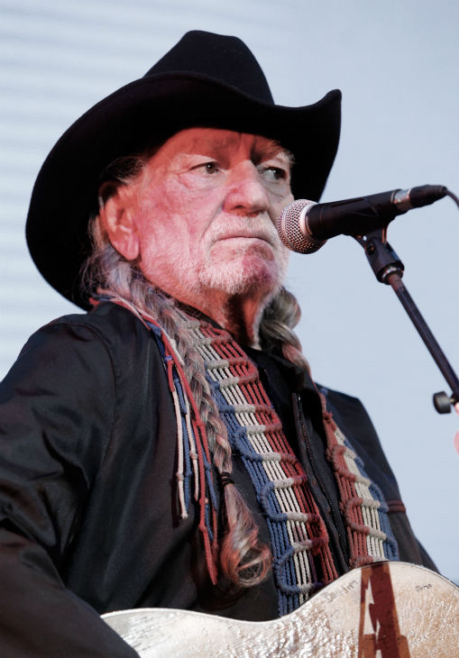 Willie Nelson performs onstage during Global...