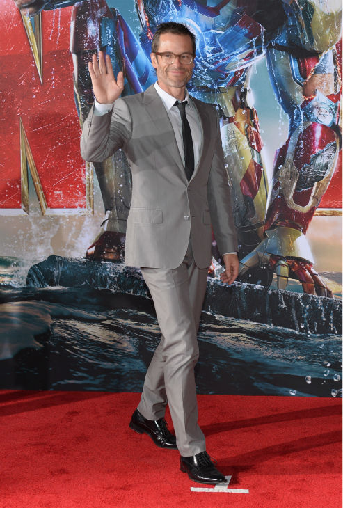 Actor Guy Pearce attends Marvel's 'Iron Man 3' Premiere at the El Capitan Theatre in Hollywood on April 24, 2013.
