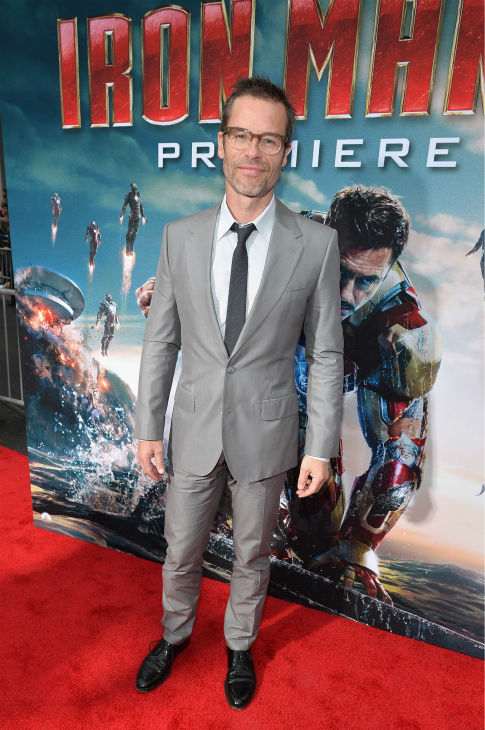 Actor Guy Pearce attends Marvel&#39;s &#39;Iron Man 3&#39; Premiere at the El Capitan Theatre in Hollywood on April 24, 2013. <span class=meta>(Alberto E. Rodriguez &#47; WireImage &#47; Walt Disney Studios)</span>