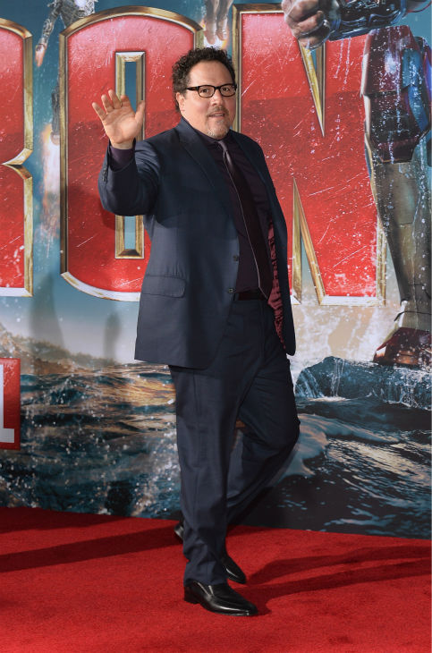 Actor/producer Jon Favreau attends Marvel's''Iron Man 3' Premiere at the El Capitan Theatre in Hollywood on April 24, 2013.