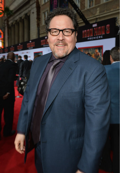 Actor/producer Jon Favreau attends Marvel's 'Iron Man 3' Premiere at the El Capitan Theatre in Hollywood on April 24, 2013.