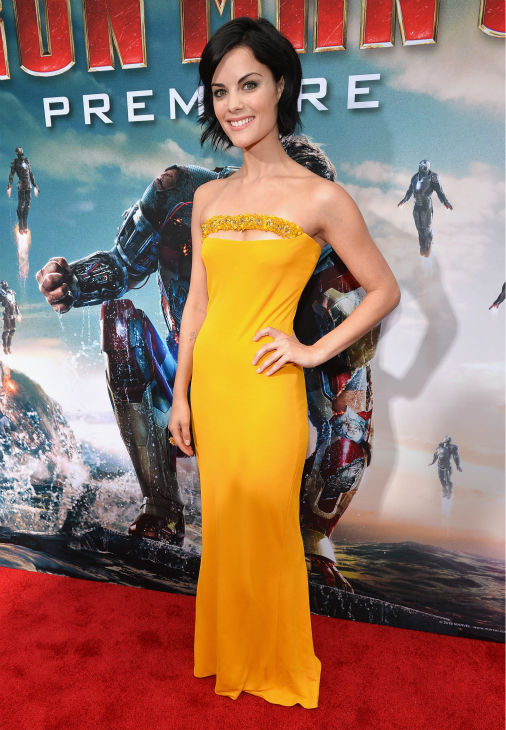 Actress Jaimie Alexander attends Marvel's 'Iron Man 3' Premiere at the El Capitan Theatre in Hollywood on April 24, 2013.