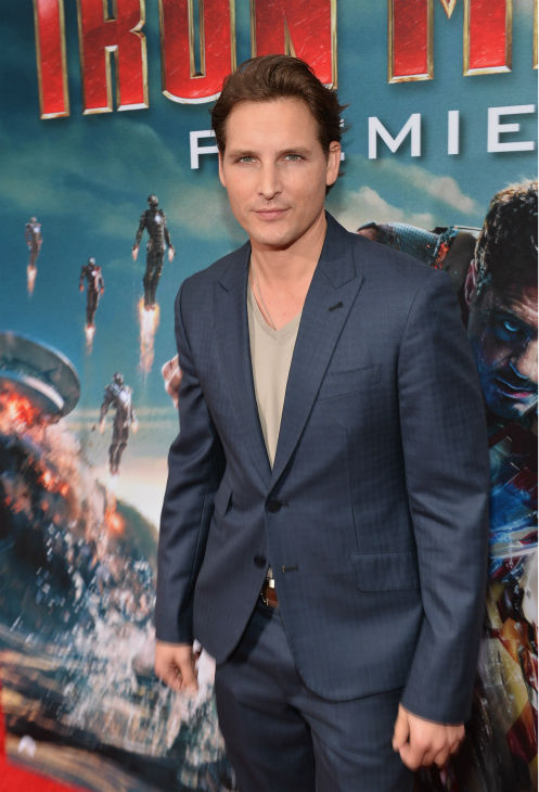 Actor Peter Facinelli attends Marvel's 'Iron Man 3' Premiere at the El Capitan Theatre in Hollywood on April 24, 2013.