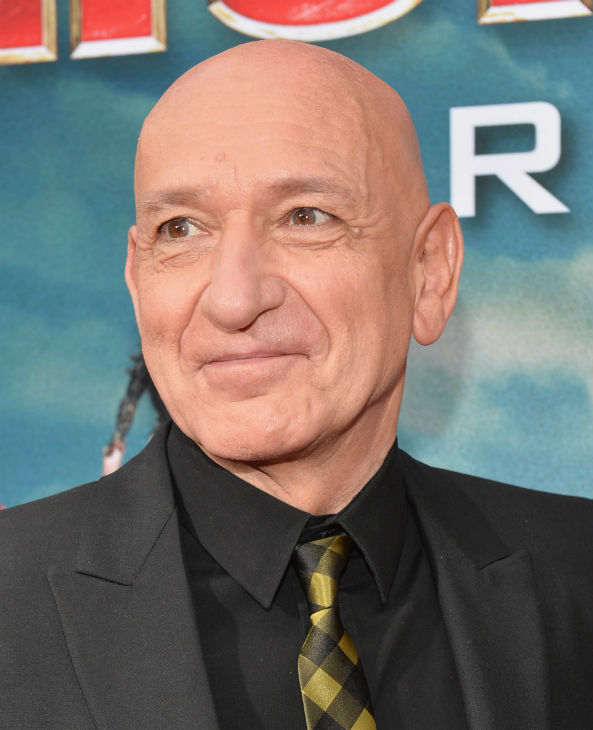 Actor Ben Kingsley attends Marvel's 'Iron Man 3' Premiere at the El Capitan Theatre in Hollywood on April 24, 2013.