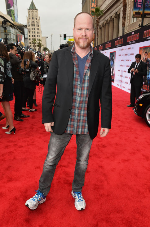 "<div class=""meta ""><span class=""caption-text "">""The Avengers' writer/director Joss Whedon attends Marvel's 'Iron Man 3' Premiere at the El Capitan Theatre in Hollywood on April 24, 2013. (Alberto E. Rodriguez / WireImage / Walt Disney Studios)</span></div>"