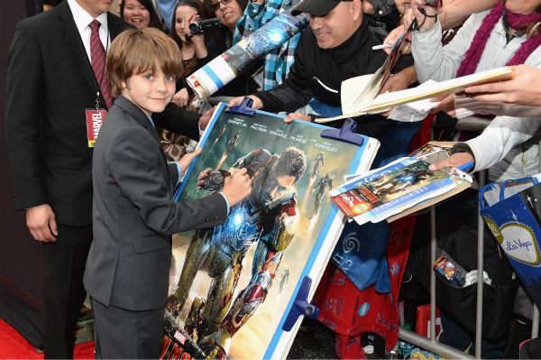 Actor Ty Simpkins attends Marvel&#39;s &#39;Iron Man 3&#39; Premiere at the El Capitan Theatre in Hollywood on April 24, 2013. <span class=meta>(Alberto E. Rodriguez &#47; WireImage &#47; Walt Disney Studios)</span>