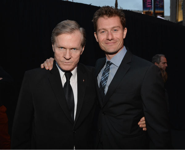 Actors William Sadler and James Badge Dale attend Marvel&#39;s &#39;Iron Man 3&#39; Premiere at the El Capitan Theatre in Hollywood on April 24, 2013. <span class=meta>(Alberto E. Rodriguez &#47; WireImage &#47; Walt Disney Studios)</span>