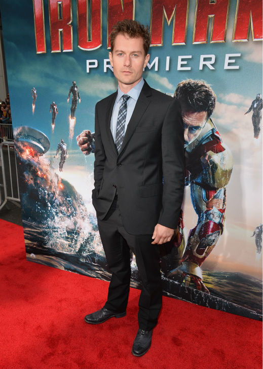 Actor James Badge Dale attends Marvel's 'Iron Man 3' Premiere at the El Capitan Theatre in Hollywood on April 24, 2013.