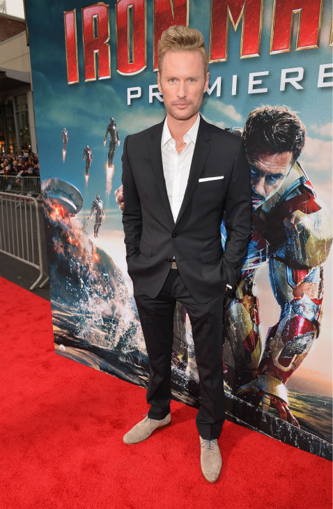Composer Brian Tyler attends Marvel's 'Iron Man 3' Premiere at the El Capitan Theatre in Hollywood on April 24, 2013.