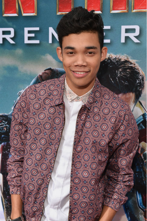 HOActor Roshon Fegan attends Marvel's 'Iron Man 3' Premiere at the El Capitan Theatre in Hollywood on April 24, 2013.