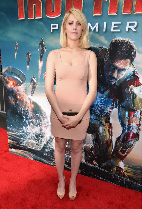Actress Yvonne Zima attends Marvel's 'Iron Man 3' Premiere at the El Capitan Theatre in Hollywood on April 24, 2013.