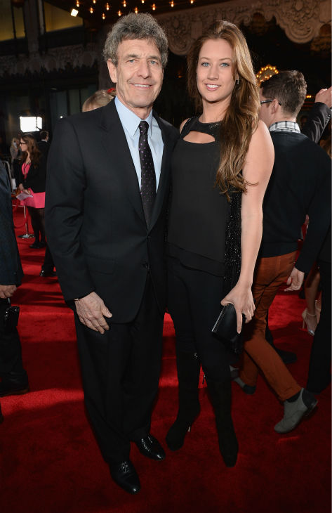 Walt Disney Studios Chairman Alan Horn and Cassidy Horn attend Marvel's 'Iron Man 3' Premiere at the El Capitan Theatre in Hollywood on April 24, 2013.