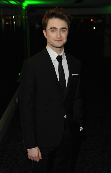 Daniel Radcliffe poses during the Jameson Empire Awards at Grosvenor House on March 24, 2013 in London, England.  Renowned for being one of the most laid-back awards shows in the British movie calendar, the Jameson Empire Awards are chosen by readers of Empire Magazine, who vote for their favorites. <span class=meta>(Jameson via Getty Images - Eamonn M. McCormack)</span>