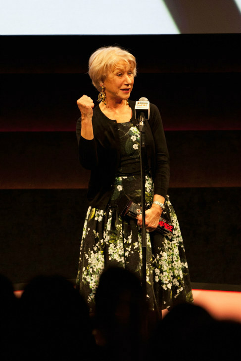 "<div class=""meta ""><span class=""caption-text "">Actress Dame Helen Mirren gives an acceptance speech at the Jameson Empire Awards at Grosvenor House on March 24, 2013 in London, England. Renowned for being one of the most laid-back awards shows in the British movie calendar, the Jameson Empire Awards are chosen by readers of Empire Magazine, who vote for their favorites. (Jameson via Getty Images)</span></div>"