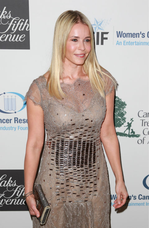 Chelsea Handler, wearing a Carolina Herrera dress, appears at the EIF Womens Cancer Research Fund&#39;s 16th Annual &#39;An Unforgettable Evening&#39; event, presented by Saks Fifth Avenue, at the Beverly Wilshire Four Seasons Hotel on May 2, 2013 in Beverly Hills, California. <span class=meta>(Joe Scarnici &#47; Getty Images for EIF)</span>