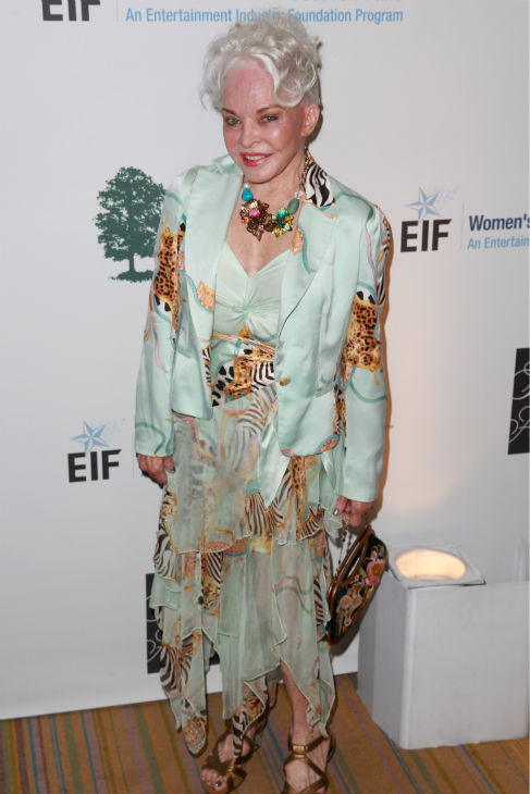 Lois Aldrin, ex-wife of moonman Buzz Aldrin, appears at the EIF Womens Cancer Research Fund&#39;s 16th Annual &#39;An Unforgettable Evening&#39; event, presented by Saks Fifth Avenue, at the Beverly Wilshire Four Seasons Hotel on May 2, 2013 in Beverly Hills, California. <span class=meta>(Joe Scarnici &#47; Getty Images for EIF)</span>